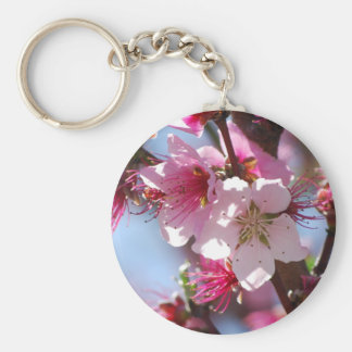 Pink Cherry Blossoms keychain