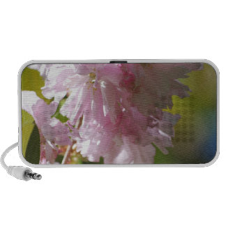 Pink Cherry Blossoms Portable Speakers