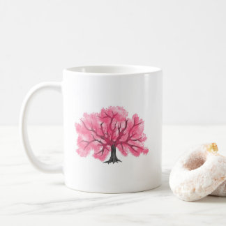 Pink Cherry Blossoms Tree Personalized Mug