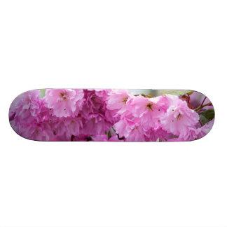Pink Cherry Sakura Tree Skate Board Deck