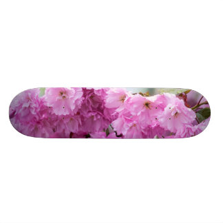 Pink Cherry Sakura Tree Skate Deck
