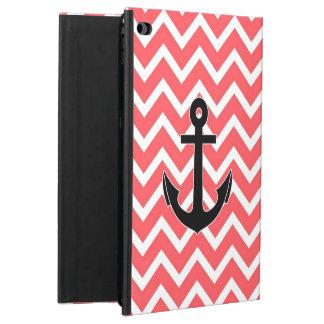 Pink Chevron Anchor Powis iPad Air 2 Case