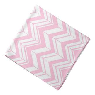 Pink Chevron and Dots/Bandana Bandanna