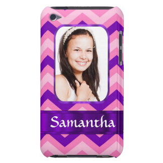 Pink chevron iPod touch cover