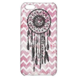 Pink Chevron Dreamcatcher iPhone 5C Cover