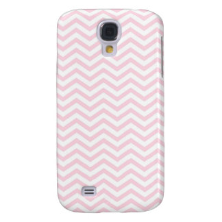 Pink Chevron Girly Pattern Galaxy S4 Case