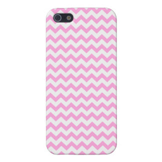Pink Chevron iPhone 5/5S Case