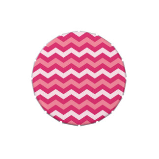 Pink Chevron jpg Candy Tin