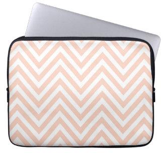 Pink Chevron Laptop Sleeve