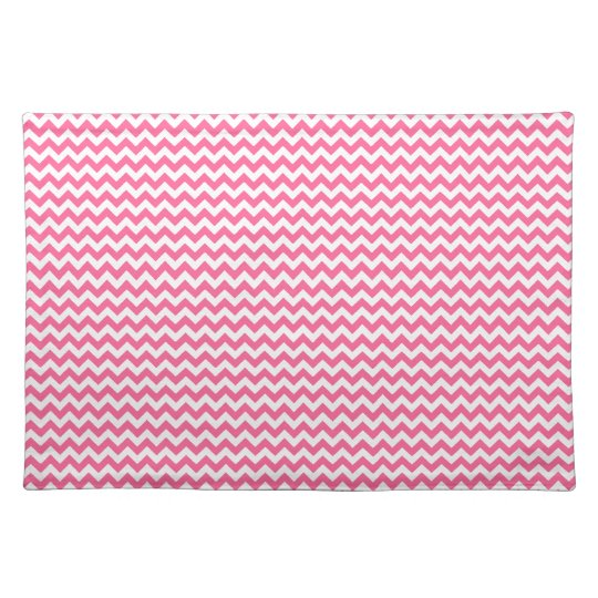Pink Chevron Placemat