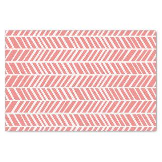 Pink Chevron Tissue Paper