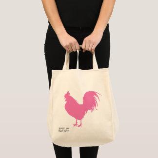 Pink Chicken! Tote Bag