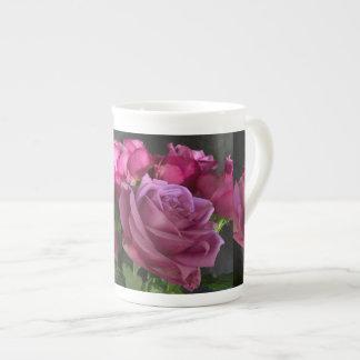 Pink Chiffon Tea Cup