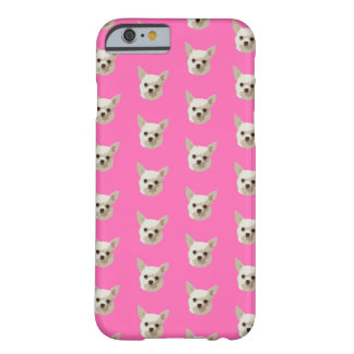 Pink Chihuahua Barely There iPhone 6 Case
