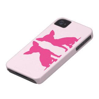 Pink Chihuahua dog cute Blackberry Bold Case Mate