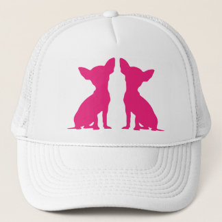 Pink Chihuahua dog cute hat, gift idea Trucker Hat