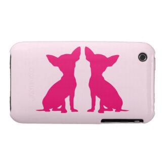 Pink Chihuahua dog cute iPhone 3G case mate, gift iPhone 3 Case-Mate Case