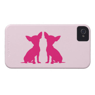Pink Chihuahua dog cute iPhone 4 case mate, gift