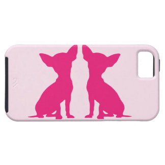 Pink Chihuahua dog cute iPhone 5 case mate, gift