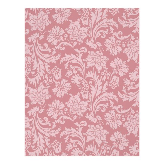 Pink Chintz Pattern Card Stock DIY Scrapbooking 21.5 Cm X 28 Cm Flyer