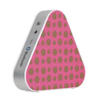 Pink chocolate chip cookies pattern speaker