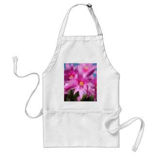 Pink Christmas Cactus Schlumbergera Flower Blossom Apron