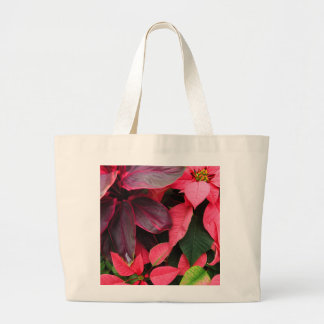 Pink Christmas Large Tote Bag