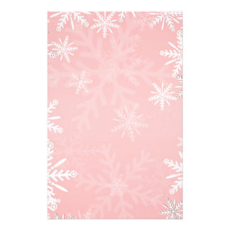 Pink Christmas Stationery