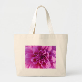 Pink Chrysanthemum Tote Bags