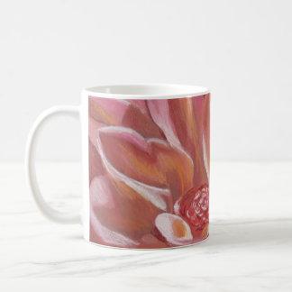 Pink Chrysanthemum Basic White Mug
