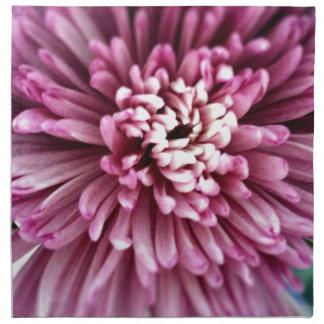Pink Chrysanthemum Cloth Napkin