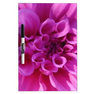 Pink Chrysanthemum Dry-Erase Whiteboards