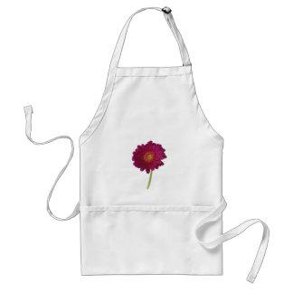 Pink Chrysanthemum Flower Standard Apron