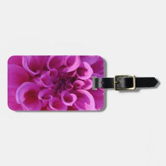 Pink Chrysanthemum Bag Tag