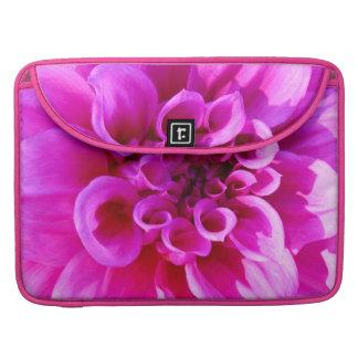 Pink Chrysanthemum Sleeve For MacBook Pro