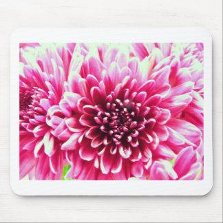 Pink chrysanthemum mouse mat