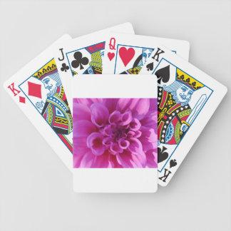 Pink Chrysanthemum Playing Cards