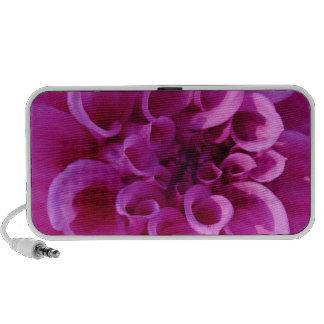 Pink Chrysanthemum Portable Speakers