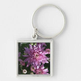 Pink Chrysanthemums Key Chains
