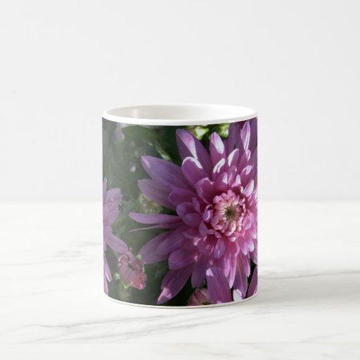 Pink Chrysanthemums Coffee Mugs