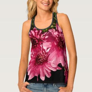 Pink Chrysanthemums Tank Top