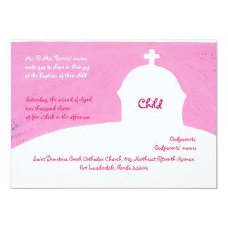 Pink Church Custom Announcement