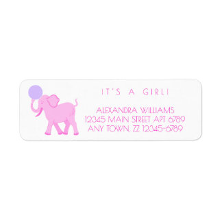 Pink Circus | Baby Girl Adorable Personalize It