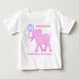 Pink Circus | Baby Girl Letter Grandmas Princess Baby T-Shirt