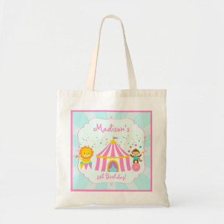 Pink Circus Carnival Birthday Party