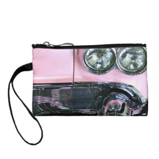 Pink Classic Car Coin Wallet