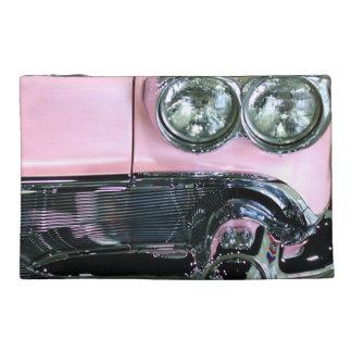 Pink Classic Car Travel Accessory Bag