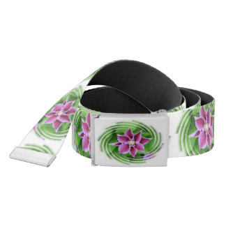 Pink Clematis Belt