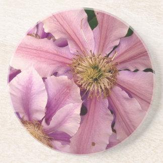 Pink Clematis Coaster