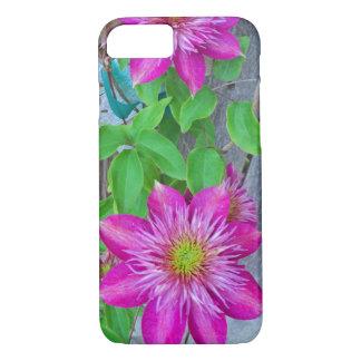 Pink Clematis Flower 2016 iPhone 7 Case